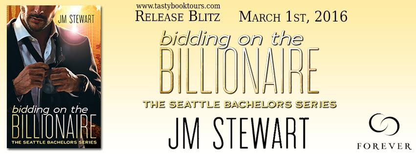 Release Blitz!! BIDDING ON THE BILLIONAIRE by JM Stewart