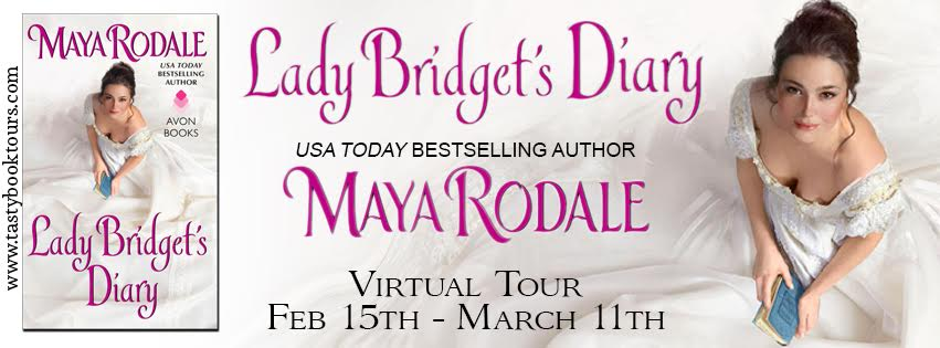 Virtual Book Tour & GIVEAWAY! LADY BRIDGET'S DIARY by Maya Rodale