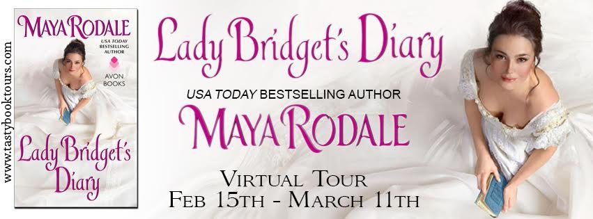 Virtual Book Tour & GIVEAWAY! LADY BRIDGET'S DIARY by Maya Rodale