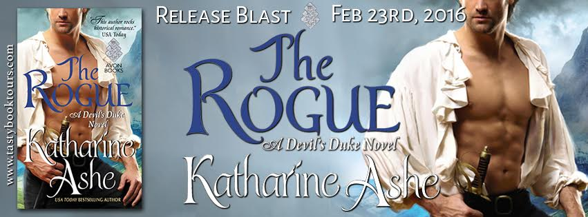 Release Blast!! THE ROGUE by Katharine Ashe