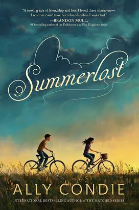 Summerlost by Ally Condie! Release Day, Review & GIVEAWAY!